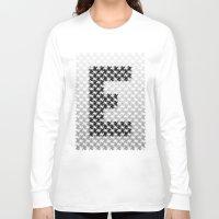 escher Long Sleeve T-shirts featuring Escher mood by Nik Russo