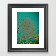 On the Other Side of Love Framed Art Print