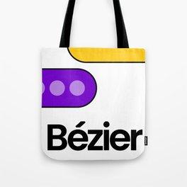 Bézier Show Tote Bag