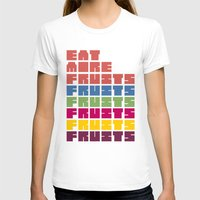 fruits T-shirts featuring Fruits by Harold's Visuals