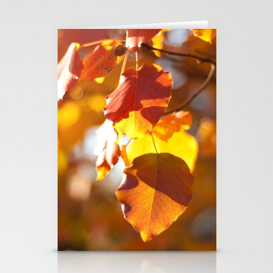 Embers IV Stationery Cards