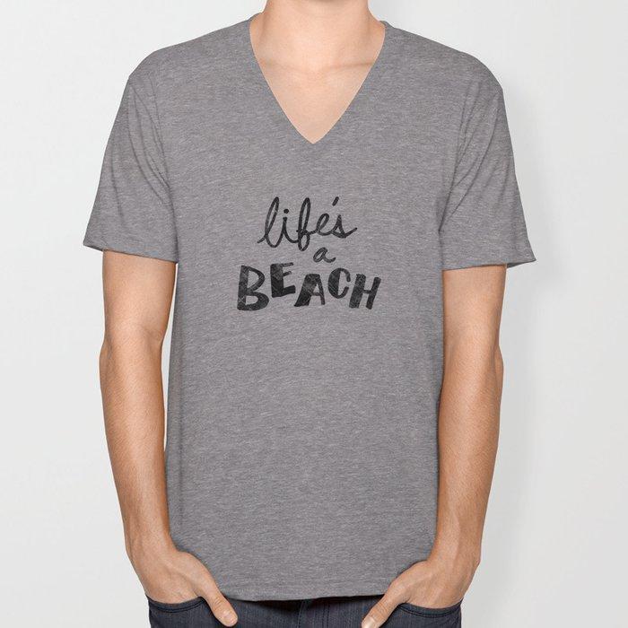 Life's a Beach. Unisex V-Neck