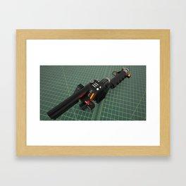 Ghostbusters Positron Collider colour render 2 Framed Art Print