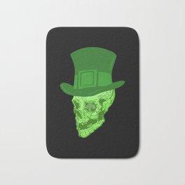 Skull Leprechaun Bath Mat