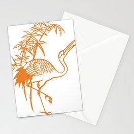 Orange Pelican Stationery Cards