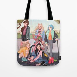 girl squad Tote Bag