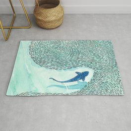 Tiger Shark Hunting Rug