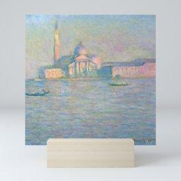 """Claude Monet """"The Church of San Giorgio Maggiore, Venice"""" Mini Art Print"""