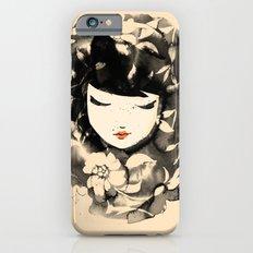 Ink Flower Girl Slim Case iPhone 6s