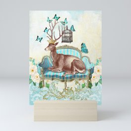 Deer me Mini Art Print