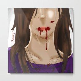 Kenzie .:Tears of Pain:. Metal Print