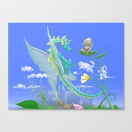 Be Carried Away Canvas Print