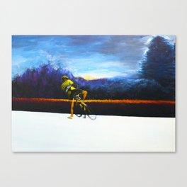Silent Crash Canvas Print