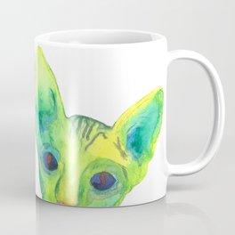 Colored Cats Coffee Mug