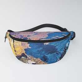 winter light at Grand Canyon national park, USA Fanny Pack