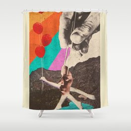 Drastic Vacation Shower Curtain