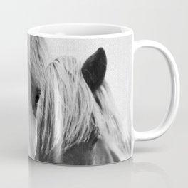 Horses - Black & White 7 Coffee Mug