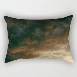 Caught In The Rain Rectangular Pillow