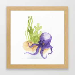The Seabed Framed Art Print