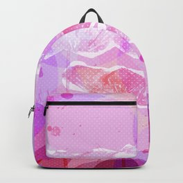 Candyfloss bubble poppies Backpack