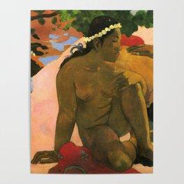 """Paul Gauguin """"Aha Oe Feii? (Eh quoi! Tu es jaloux?)"""" Poster"""