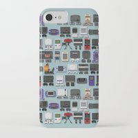 gamer iPhone & iPod Cases featuring Gamer by James Brunner