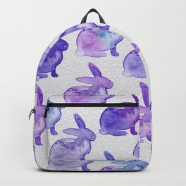 Watercolor Bunnies 1K by Kathy Morton Stanion Backpack