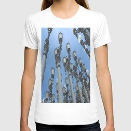 LACMA Lamp Posts 1  T-shirt