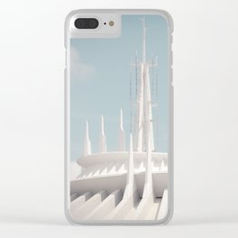 Tomorrowland Clear iPhone Case