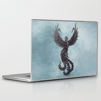phoenix Laptop & iPad Skins featuring Phoenix by Texnotropio