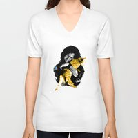 ripley V-neck T-shirts featuring Officer Ripley by mirodeniro
