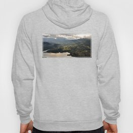 Looking Down From The Clouds Hoody