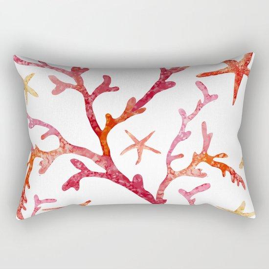 Sea Life Pattern 10 Rectangular Pillow