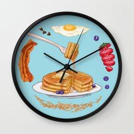 Pancake Mandala Wall Clock