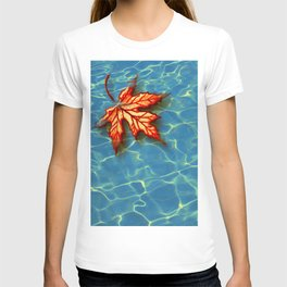 Wet Maple Leaf T-shirt