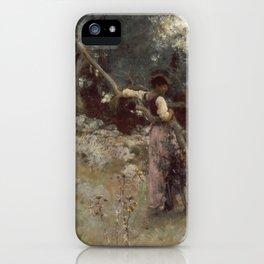 John Singer Sargent - A Capriote iPhone Case