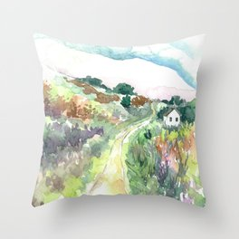 The Journey Home Throw Pillow