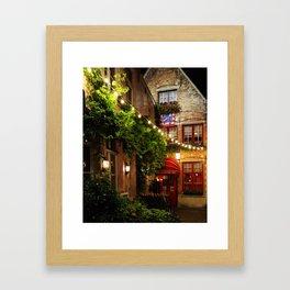 Enchantée, Brugge Framed Art Print