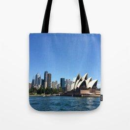 Opera of a Skyline Tote Bag