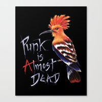 punk Canvas Prints featuring Punk by Hannah Böving