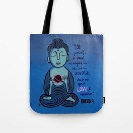 Buddha Quote1 Tote Bag