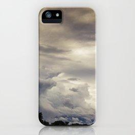 Moody Sky iPhone Case