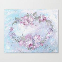 Crown Rose Canvas Print