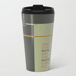 New Technology Commands Travel Mug