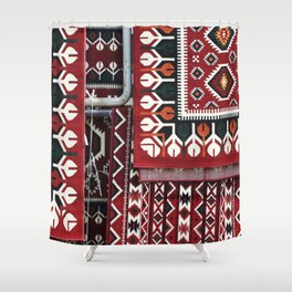 Arabic Woven Carpets Shower Curtain