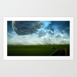 Paysage 10 Art Print