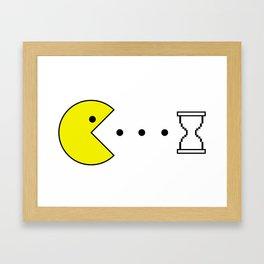 PacTime Framed Art Print