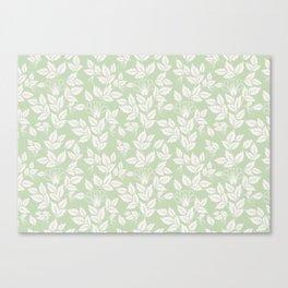 Leaves Pattern 3 Canvas Print