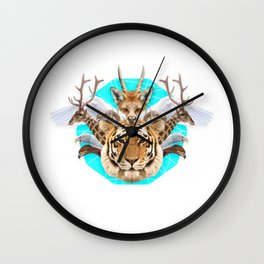 Cryptozoology Wall Clock
