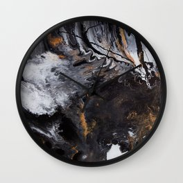 Something Completely Unlike Marble Wall Clock